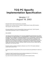 TCG PC Specific Implementation Specification - Trusted Computing ...