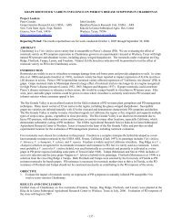 Grape Rootstock Variety Influence On Pierce'S Disease Symptoms ...