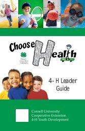 4-H Leader Guide - 4-H - Cornell University