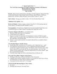 DRAFT MINUTES - 4-H - Cornell University