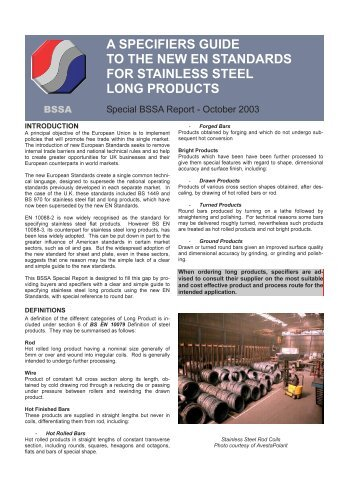 Long Products Special Report.pdf - British Stainless Steel Association