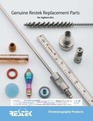Standard Ferrules for 1//16- 1//8- Standard Restek 20209 Ferrules Pack of 10 and 1//4-Inch Fittings