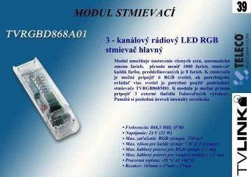 Katalógové listy - osvetlenie LED - EL-Mont