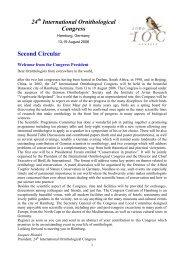 Download as PDF - International Ornithological Union