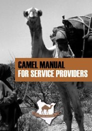 Camel manual for service providers - Kenya Agricultural Research ...