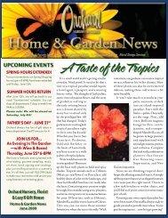 A Taste of the Tropics - Orchard Nursery