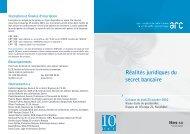 Réalités juridiques du secret bancaire - trusts.ch
