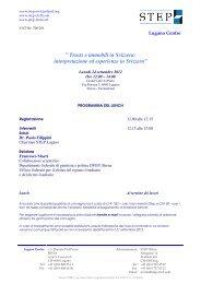 programma Lunch 24 settembre 2012 - trusts.ch