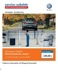 "Volkswagen Zubehör Winterkomplettrad ""Aspen"" - Feddersen ..."