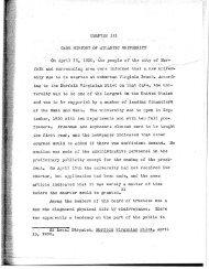 ' CHAP'TER III - The W&M Digital Archive