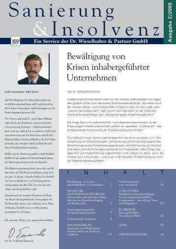 Newsletter 1/05 RZ