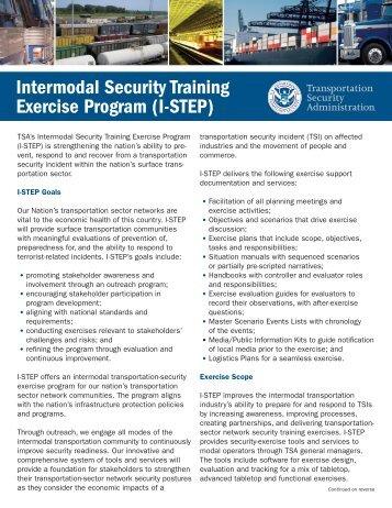 I-STEP - Transportation Security Administration