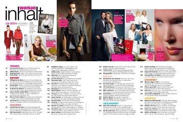 358 SEITEN WOMAN Trends report Fashion Beauty Gesundheit ...