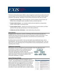 The Exercise Information System - Transportation Security ...