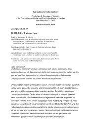 Tue Gutes und rede darüber? - Evangelische Kirche der Pfalz