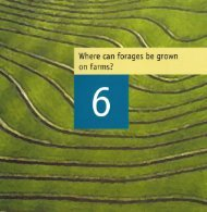 I Where can forages be grown on tarms! - ACIAR