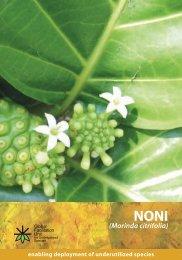 Species brochure-Noni Morinda citrifolia.pdf - Crops for the Future