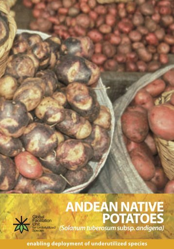 ANDEAN NATIVE POTATOES - GFU for Underutilized Species