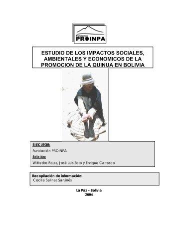 Estudio de los impactos sociales, ambientales y económicos de la ...