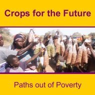 small booklet - Crops for the Future