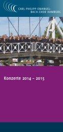 Konzerte 2014 – 2015