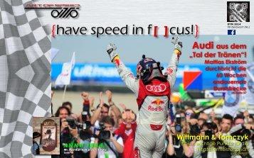 {have speed in f[ ]cus!} 09 Rennen DTM Zandvoort [NL]