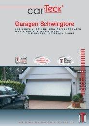 Teckentrup carTeck Garagen Schwingtore - Der Garagentor ...