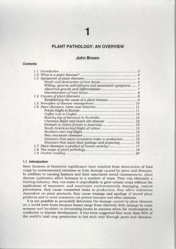 an overview - Australasian Plant Pathology Society