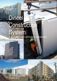 TNS Sustainability Study - Dincel Construction System