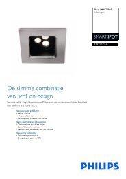 Productsheet Philips SMARTSPOT recessed LED nickel 1x7.5W ...