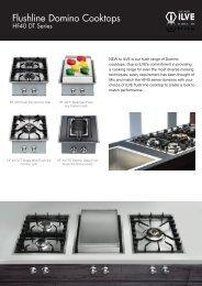Flushline Domino Cooktops - Ilve
