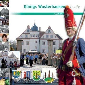 Königs Wusterhausen heute 2012