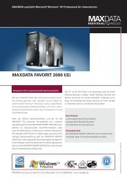 MAXDATA FAVORIT 2000 I(S)