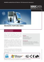 MAXDATA FORTUNE 3000 I