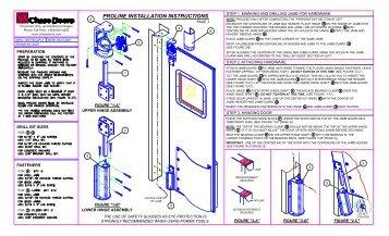 PROLINE INSTALLATION INSTRUCTIONS - Chase Doors  sc 1 st  Yumpu : wiring instructions chase - yogabreezes.com