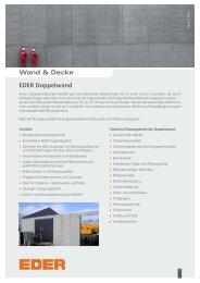 02 wand und decke - Ziegelwerk Eder GmbH & Co KG