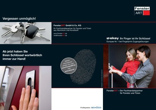 Download PDF - FensterART GmbH & Co KG