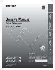 32af44 35af44 owner's manual