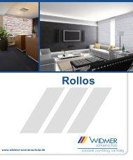 WIDMER Rollos - Inhaltsübersicht