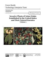 Invasive Plants of Asian Origin Established in the - USDA Forest ...