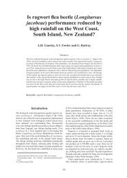 performance reduced by high rainfall on the West ... - Invasive.org