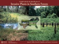 Invasive Plants in Southern Forests - Invasive.org