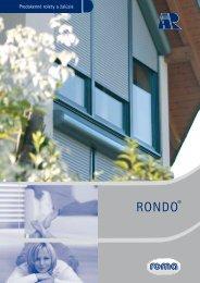 RONDO® - Exterier SK s....