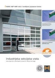 Industrijska sekcijska vrata - FESTA