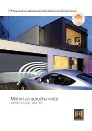 Motori za garažna vrata - FESTA