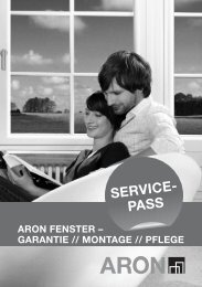 Fenster Servicepass (PDF, 6 MB) - Aron