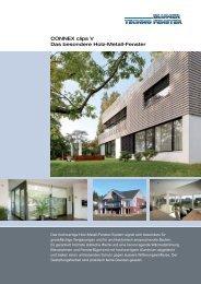 CONNEX clips V Das besondere Holz-Metall-Fenster