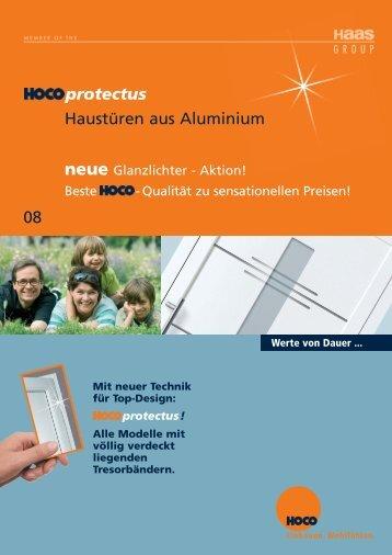 protectus Haustüren aus Aluminium 08 - Hoco