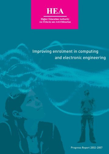 Improving enrolment in computing and electronic engineering