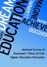 Higher Education Outcomes - IBEC